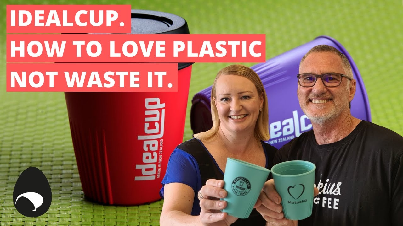 Steph and Nick with Cups_How to Love Plastic and not waste it
